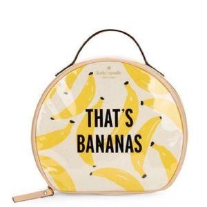 Kate Spade That's Bananas Travel Bag